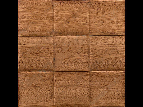 Motion || -2-Inch-Weave - Natural-Sapele