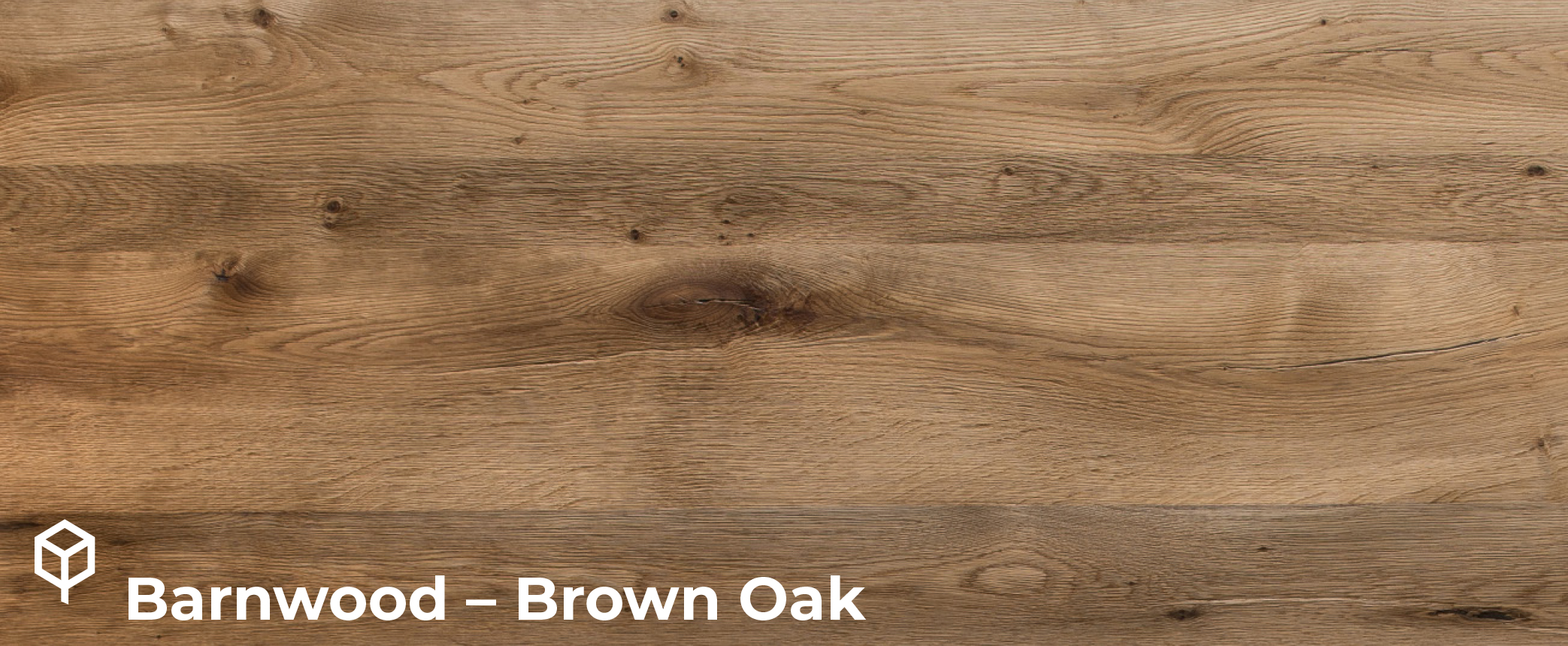 Barnwood Brown Oak veneer