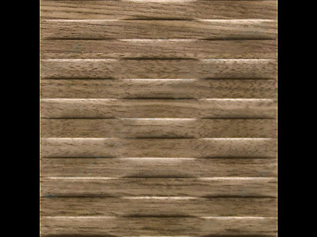 Motion || - Wave - Horizontal - Natural - Walnut